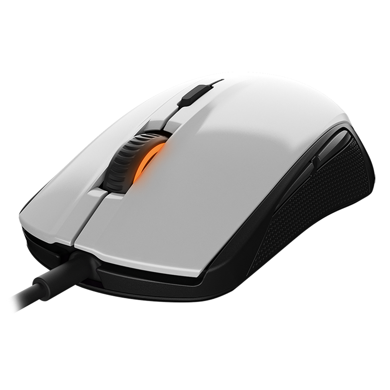 SteelSeries Rival 100 White - фото 1