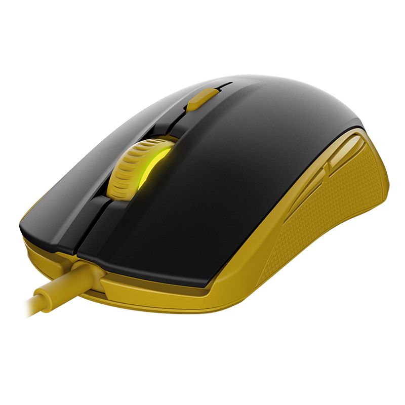 SteelSeries Rival 100 Proton Yellow - фото 1