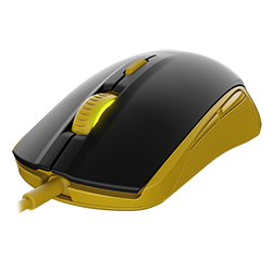 Игровая мышь SteelSeries Rival 100 Proton Yellow