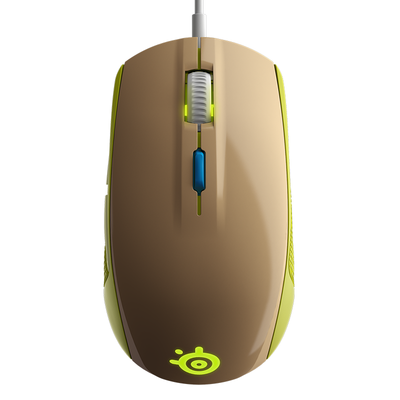 SteelSeries Rival 100 Gaia Green - фото 4