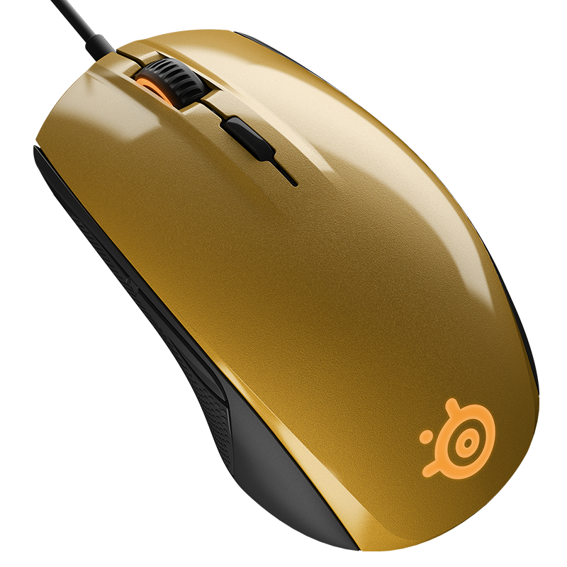 SteelSeries Rival 100 Alchemy Gold - фото 2