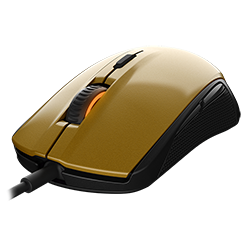 Игровая мышь SteelSeries Rival 100 Alchemy Gold