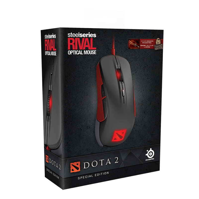 SteelSeries Rival Dota 2 Edition - фото 10