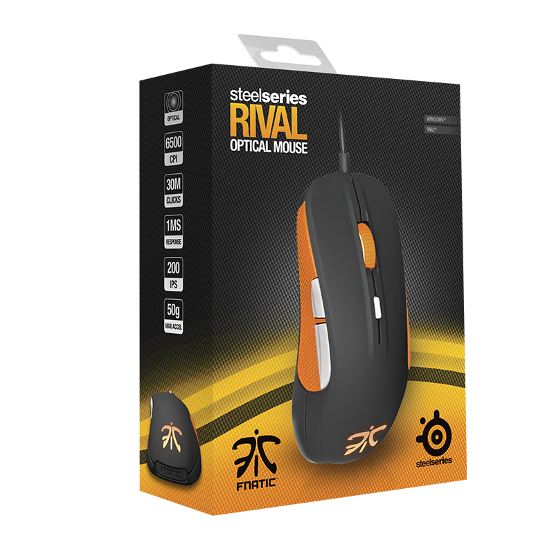 SteelSeries Rival Fnatic Edition - фото 11