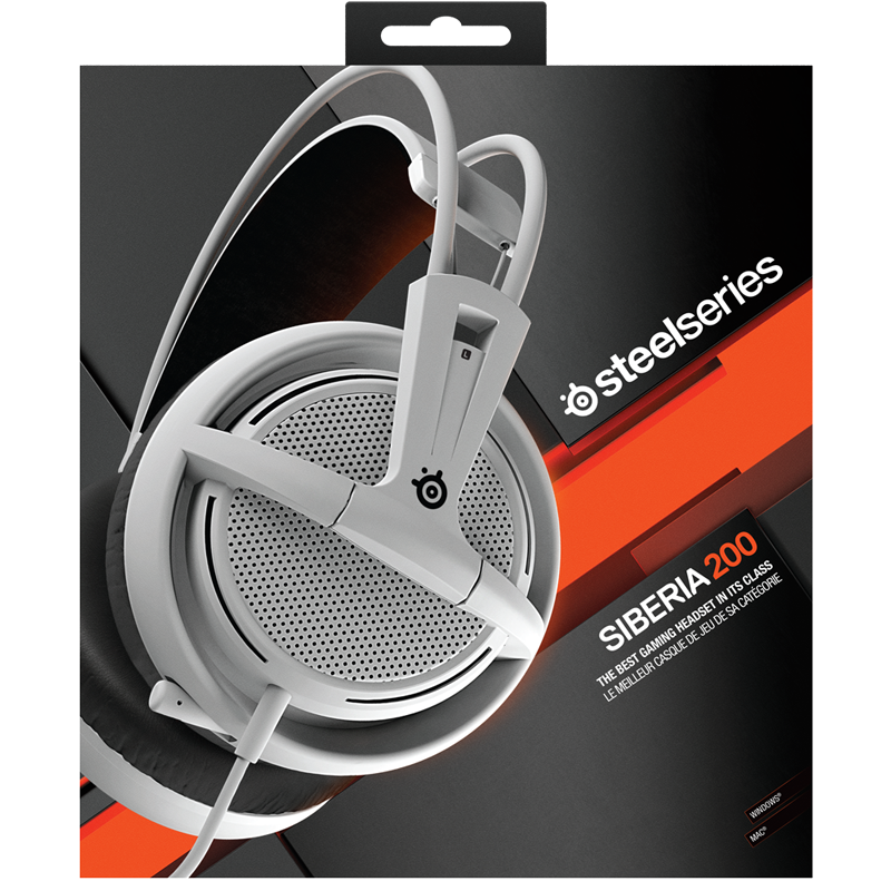 SteelSeries Siberia 200 White - фото 7