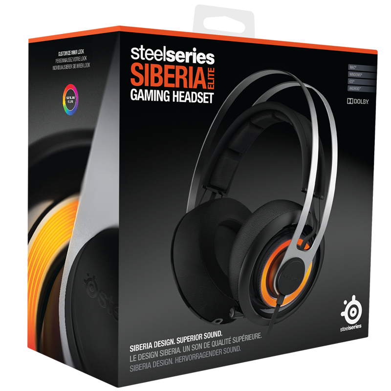SteelSeries Siberia Elite Prism Black - фото 9