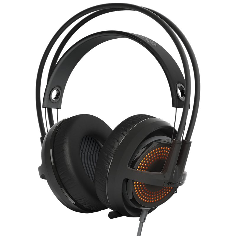 SteelSeries Siberia 350 Black & Grey - фото 1