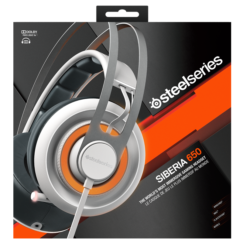 SteelSeries Siberia 650 White - фото 5