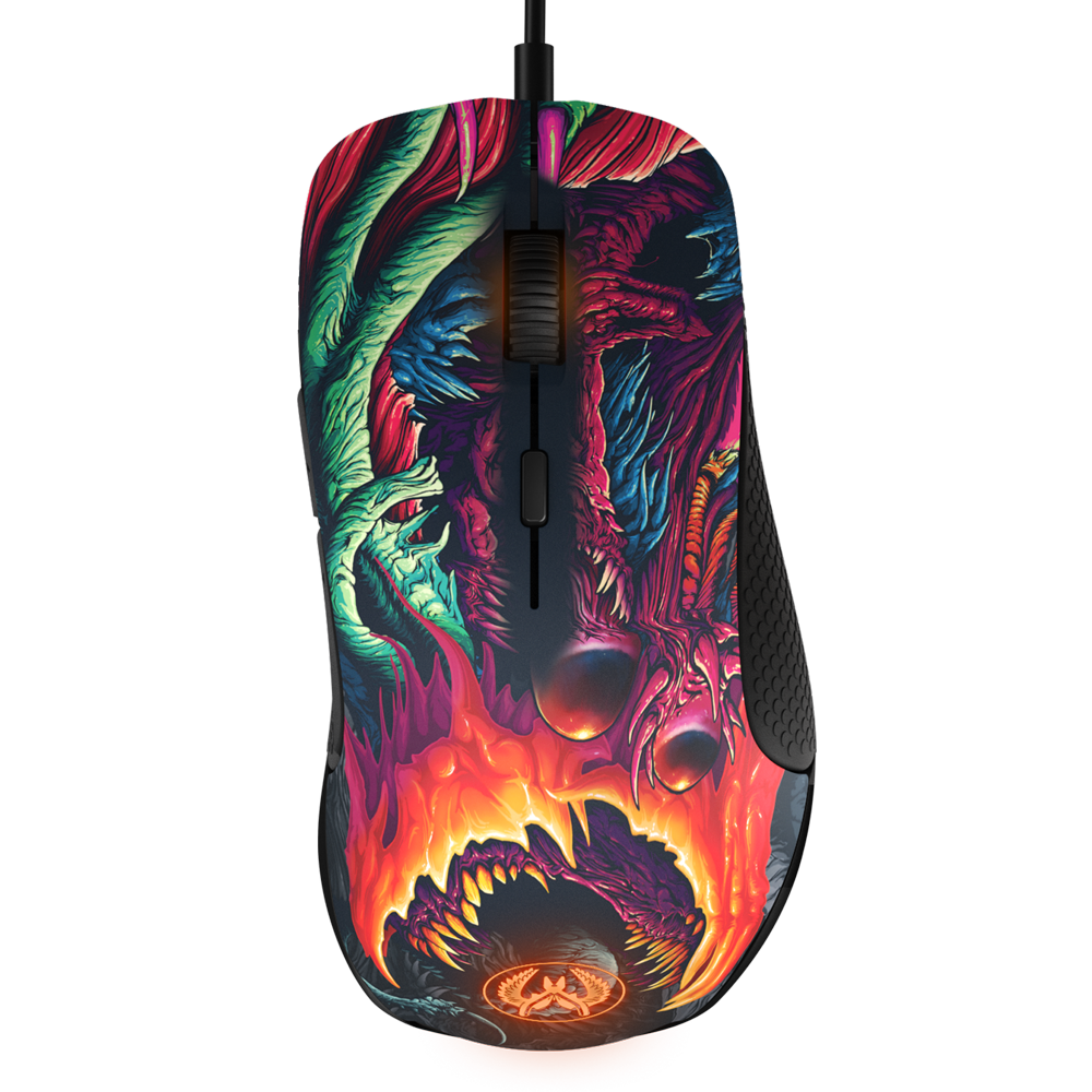 SteelSeries Rival 300 CS:GO Hyper Beast Edition - фото 7