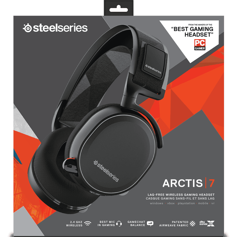 SteelSeries Arctis 7 Black - фото 8