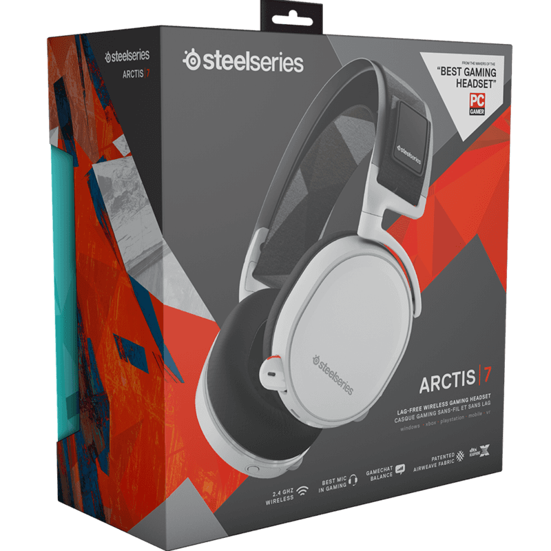 SteelSeries Arctis 7 White - фото 7