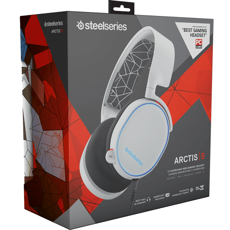 SteelSeries Arctis 5 White - фото 7