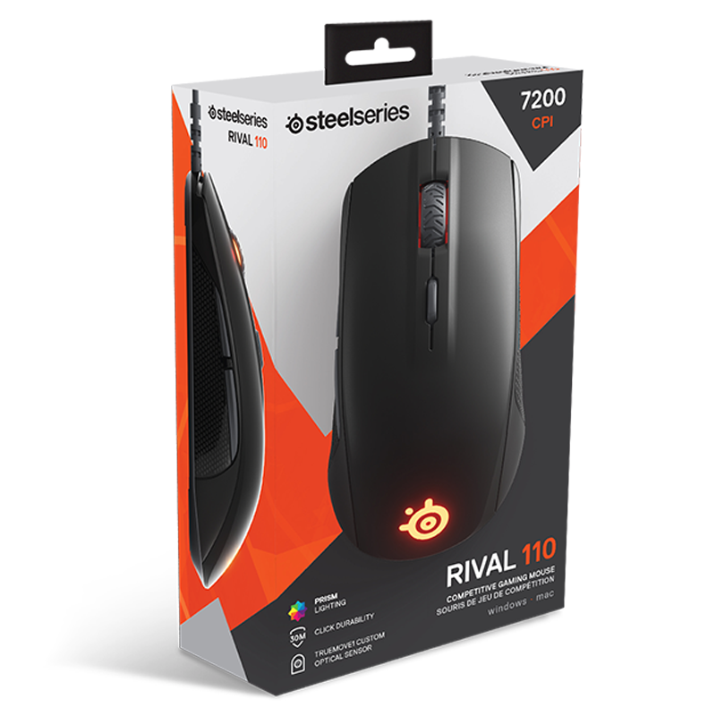 SteelSeries Rival 110 Black - фото 5