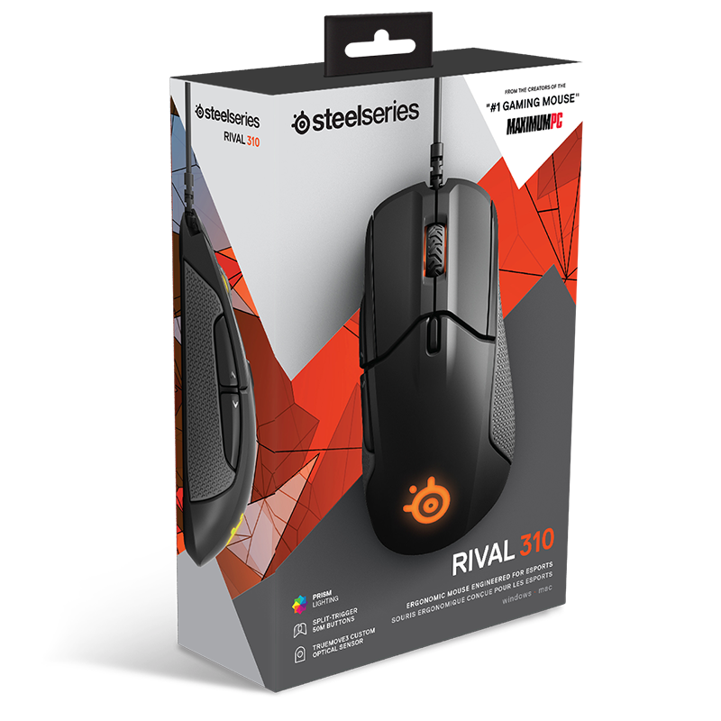 SteelSeries Rival 310 Black - фото 8