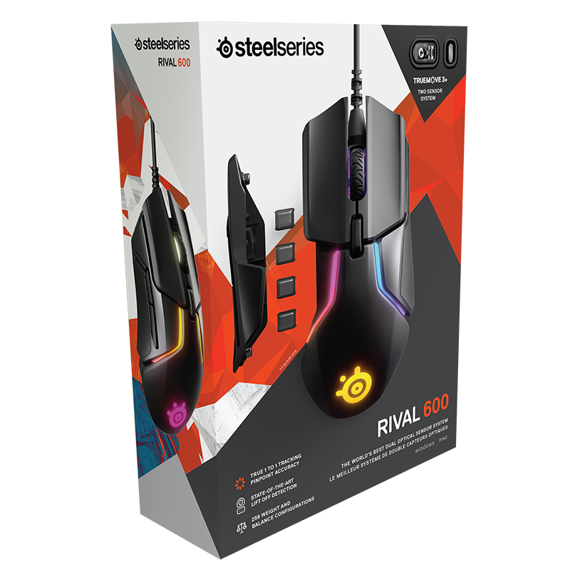 SteelSeries Rival 600 - фото 10