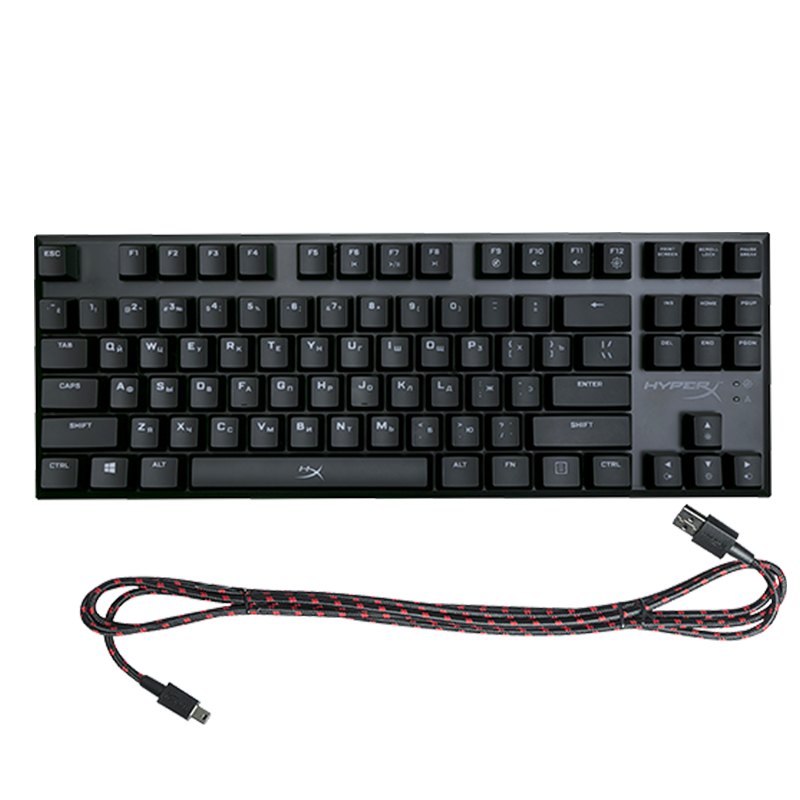 Kingston HyperX Alloy FPS Pro Cherry MX Red - фото 3