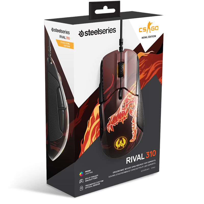 SteelSeries Rival 310 CS:GO Howl Edition - фото 4