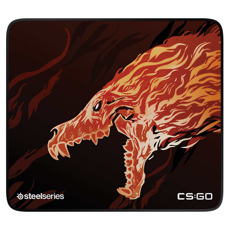 SteelSeries QcK+ Limited CS:GO Howl Edition - фото 2