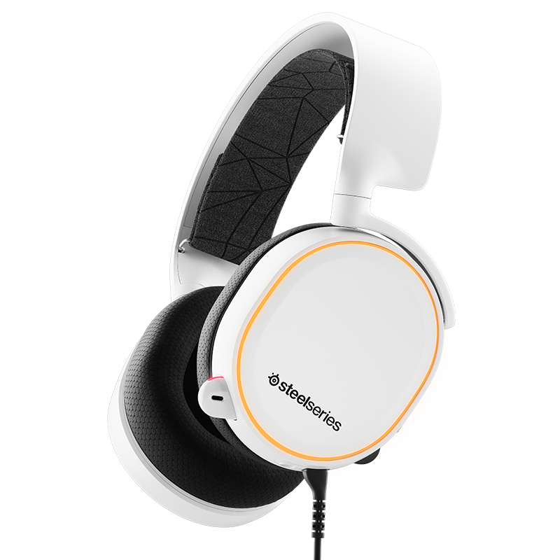 SteelSeries Arctis 5 White 2019 Edition - фото 1